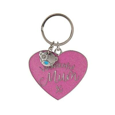 £4.99 • Buy Me To You - Tatty Teddy Wonderful Mum Heart Keyring - Mother's Day Gift