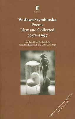 Poems, New And Collected: 1957-1997 By Wislawa Szymborska (English) Paperback Bo • 13.99£
