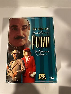 £7.60 • Buy Poirot - The Complete Collection (DVD, 2002, 4-Disc Set) Agatha Christie A&E
