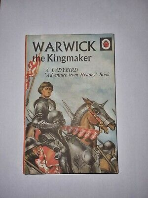 Ladybird Book Warwick The King Maker Adventure From History • 2.70£
