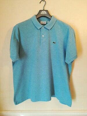 Men's Lacoste Polo Shirt Size 7 PTP Is 25 Inches Good Used Condition • 9.99£