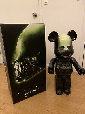 $1599 • Buy BEARBRICK 1000% Alien With Box Mint Condition