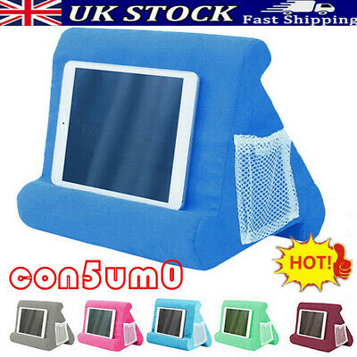 2021 Multi-Soft Lap Stand For IPad Tablet Cushion Phone Laptop Holder Hot • 11.39£