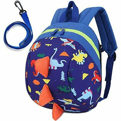 Toddler Kids Backpack Rucksack With Reins For Boys/Girl, Dinosaur Rucksack • 13.33£