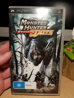 AU36 • Buy Monster Hunter Freedom Unite PSP Game - With Manual