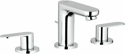 GROHE 20187000 | Eurosmart Cosmopolitan Bathroom Tap | Pop-Up Waste - Chrome • 129£