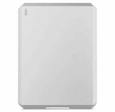 LaCie 5TB Mobile External Hard Drive In Silver - USB 3.0 • 129.99£