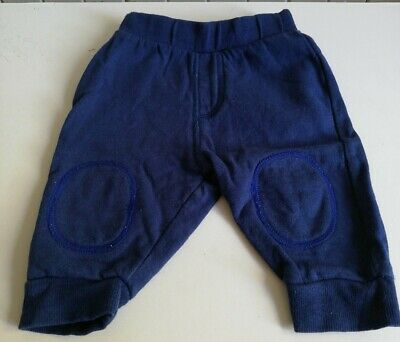 Baby Boys 3-6 Months Navy Jogging Bottoms • 0.99£