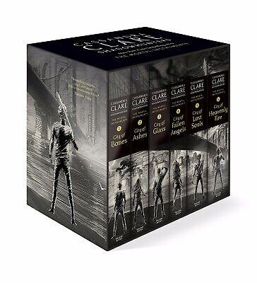 The Mortal Instruments Boxed Set (6 Books) By Cassandra Clare #wstp • 29.99£