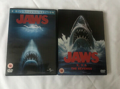 Jaws 1 2 3 4 (5 Disc) DVD Set- Complete Movie Series (including Special Edition) • 4.20£