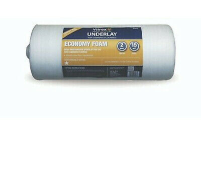 Vitrex Economy Foam Underlay 15m2 Roll Slightly Tatty • 16.95£