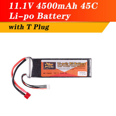 AU39.99 • Buy LiPo Battery 11.1V 4500mAh 3S 45C T XT60 For RC Quadcopter Racing Car Truck Boat