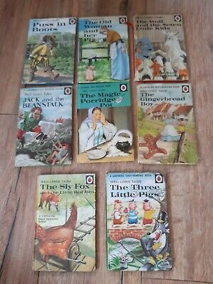 Lot Of 8 X Vintage Ladybird Books 1960s & 1970s Series 606D • 8.50£