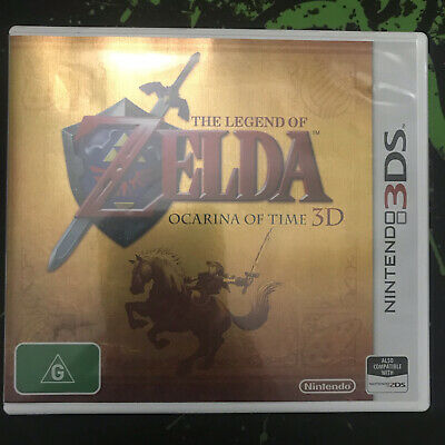 AU34.99 • Buy The Legend Of Zelda: Ocarina Of Time 3D - Nintendo 3DS Game Cartridge And Case