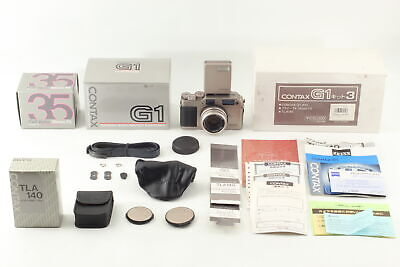 $ CDN1721.75 • Buy [Almost Unused] Contax G1 Set Green Label Planar 35mm F2 Lens TLA140 From JAPAN