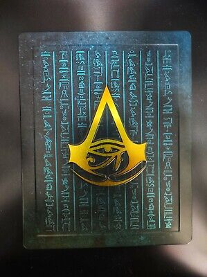 AU78.39 • Buy Assassins Creed Origins Steelbook From Dawn Of The Creed Collectors * Ultra Rare