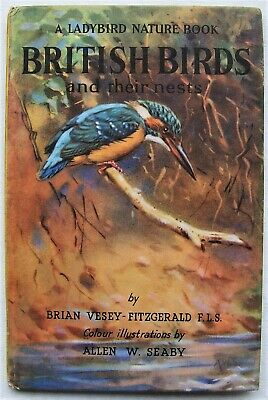 Vintage Ladybird Book –British Birds And Their Nests–Nature Series 536–Very Good • 9.99£