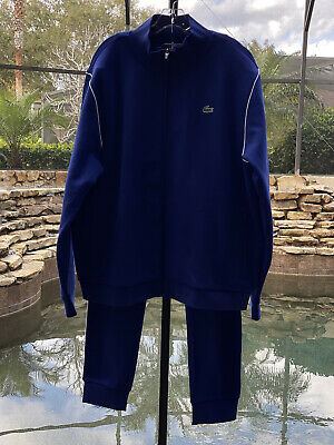 Lacoste Sport Stand-up Neck Fleece Tracksuit (2xl) • 107.28£