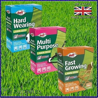 £6.99 • Buy Grass Seed Lawn Seeds Thick Fast Growing Repair Tough Hard Wearing Quick Fix