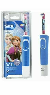 AU35.67 • Buy Oral-B Stages Kids Electric Toothbrush Rechargeable - Frozen - Blue - 3 Years +