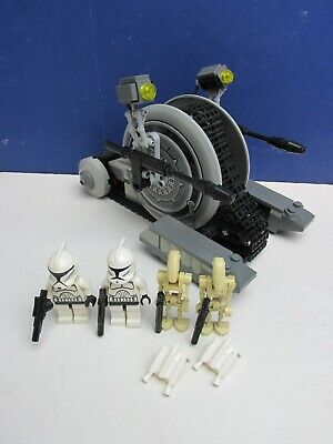 Lego 7748 Complete STAR WARS CORPORATE ALLIANCE TANK DROID Set CLONE TROOPERS  • 35.93£