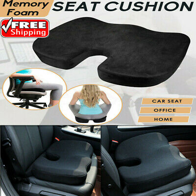 AU22 • Buy Memory Foam Thick Car Front Seat Cushion Office Chair Soft Breathable Pad Mat AU