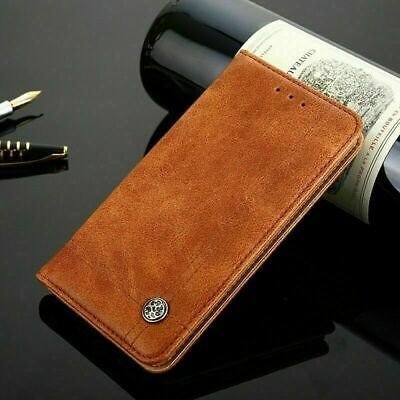 AU11.99 • Buy NEW Leather Genuine Luxury Stand Phone Case Cover For Sony Xperia Z5 XZ Premium