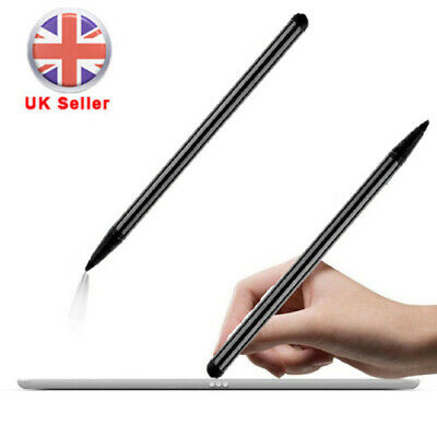 Capacitive BlackTouch Screen Stylus Pen For PDA IPhone/iPad/Samsung Phone Tablet • 2.59£