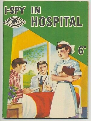 Old I-Spy Book In The Hospital Unused • 9.99£