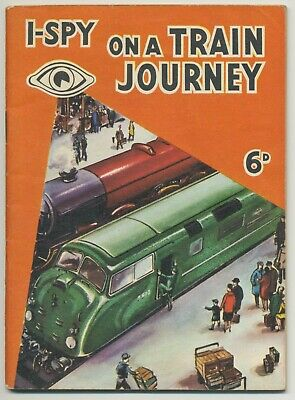 Old I-Spy Book On A Train Journey • 4.99£