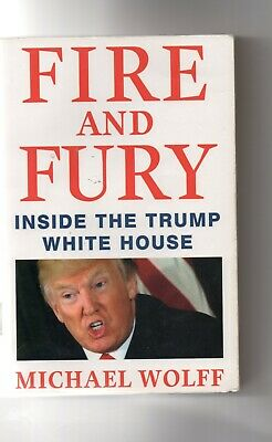 AU2.24 • Buy Fire And Fury - Inside The Trump White House By Michael Wolff
