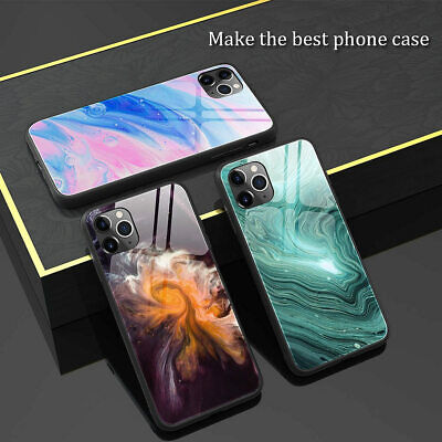 AU12.63 • Buy Slim Fit Marble Shockproof Hard Case Cover IPhone 11 Pro Max XS Max XR 8 7 6 6S
