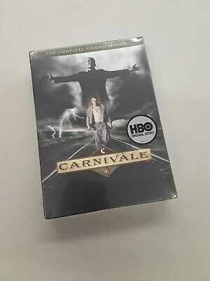 Carnivale - The Complete Second Season 2 (DVD, 2010, 4-Disc Set) HBO BRAND NEW • 18.81£