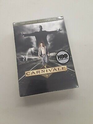Carnivale - The Complete Second Season 2 (DVD, 2010, 4-Disc Set) HBO BRAND NEW • 18.63£