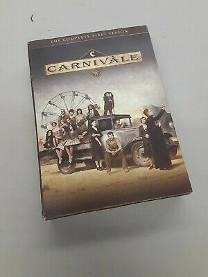 Carnivale - The Complete First Season (DVD, 2012, 4-Disc Set) HBO  • 7.15£