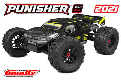 Must Have 1/8 Scale CORALLY PUNISHER XP Kronos 6S RTR Truggy Monster Truck NEW!! • 393.55£