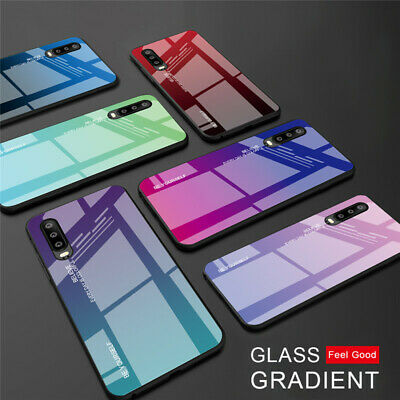 Tempered Glass Case For Huawei P20 P30 P40 Lite Honor 20 Mate 20 30 40 Pro Cover • 3.96£