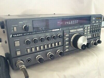 Yaesu FT-736r VHF/UHF All Mode Base Station Amateur Transceiver (Boxed) • 479£
