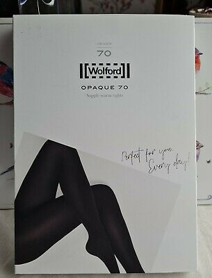 Wolford Opaque 70 Tights, Black • 20£