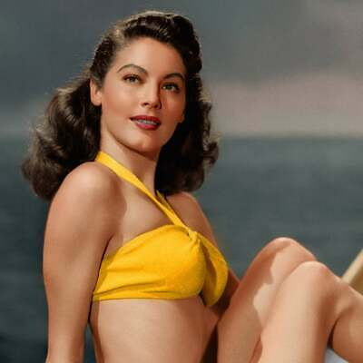 Swimming Suit Ava Gardner Movie Actor USA Retro A0 A1 A2 A3 A4 Photo Poster • 15.99£