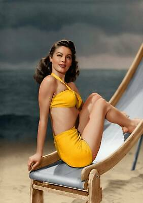 Ava Gardner Swimming Suit Movie Actor USA Retro A0 A1 A2 A3 A4 Photo Poster • 15.99£