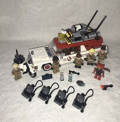Lego Ghostbusters - 75828 - Complete - Ghostbusters - Ecto-1 & Ecto-2 • 59.50£