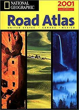 National Geographic Road Atlas : Usa/Canada/Mexico National Geographic Society • 12.31£