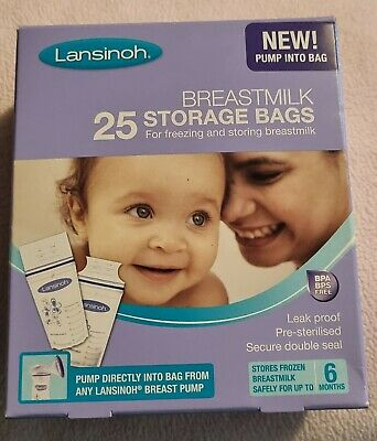Lansinoh Breastmilk Storage Bags • 1£