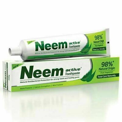 Neem Active 98% Natural Origin Total Care Toothpaste 200 Gm (Pack Of 4) • 21.88£