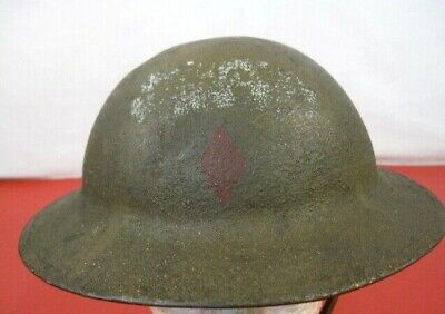 $329.99 • Buy WWI US Army AEF M1917 Helmet W/Liner Hand Painted - 5th Infantry Div. Emblem #2
