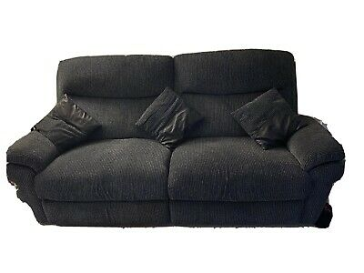 Lazy Boy 3 Seater Electric Recliner + 2 Seater Standard Sofa + Footstool • 1,000£
