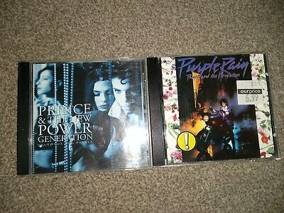2 X CD Albums Prince And The Revolution. Purple Rain, Diamonds And Pearls  • 4.99£