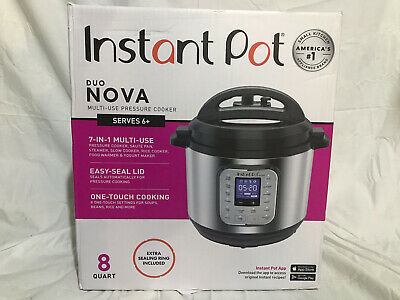 $ CDN100.46 • Buy Instant Pot Duo Nova Pressure Cooker 7 In 1,  8 Qt