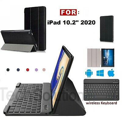 £16.45 • Buy NEW Slim Cover Case For IPad 10.2  2020 8th Generation & Wireless Keyboard